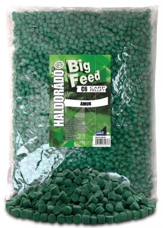 Haldorado Big Feed - C6 Pellet - Capsuna & Ananas 2.5kg, 6 mm5