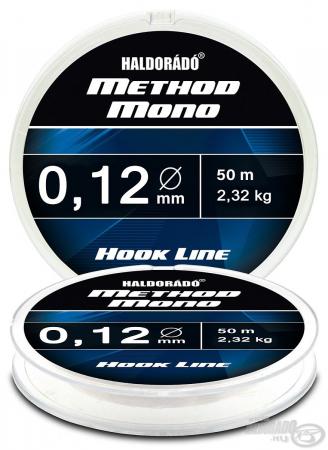 Haldorado Method Mono Hook Line - 0.12 - 2.32kg0