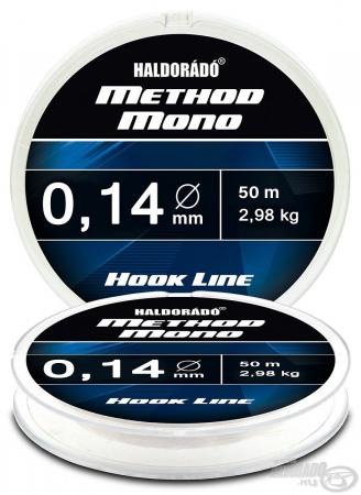 Haldorado Method Mono Hook Line - 0.12 - 2.32kg3