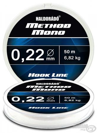 Haldorado Method Mono Hook Line - 0.12 - 2.32kg1