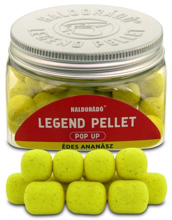 Haldorado Legend Pellet Pop Up - Ananas dulce 12, 16mm  50g4