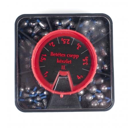 Set plumbi picatura nr. I 0.5g-2.5g; 101buc; 7 compartimente [0]