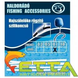 Haldorado Tub silicon fixare inaintas fir de par 0,3mm [1]