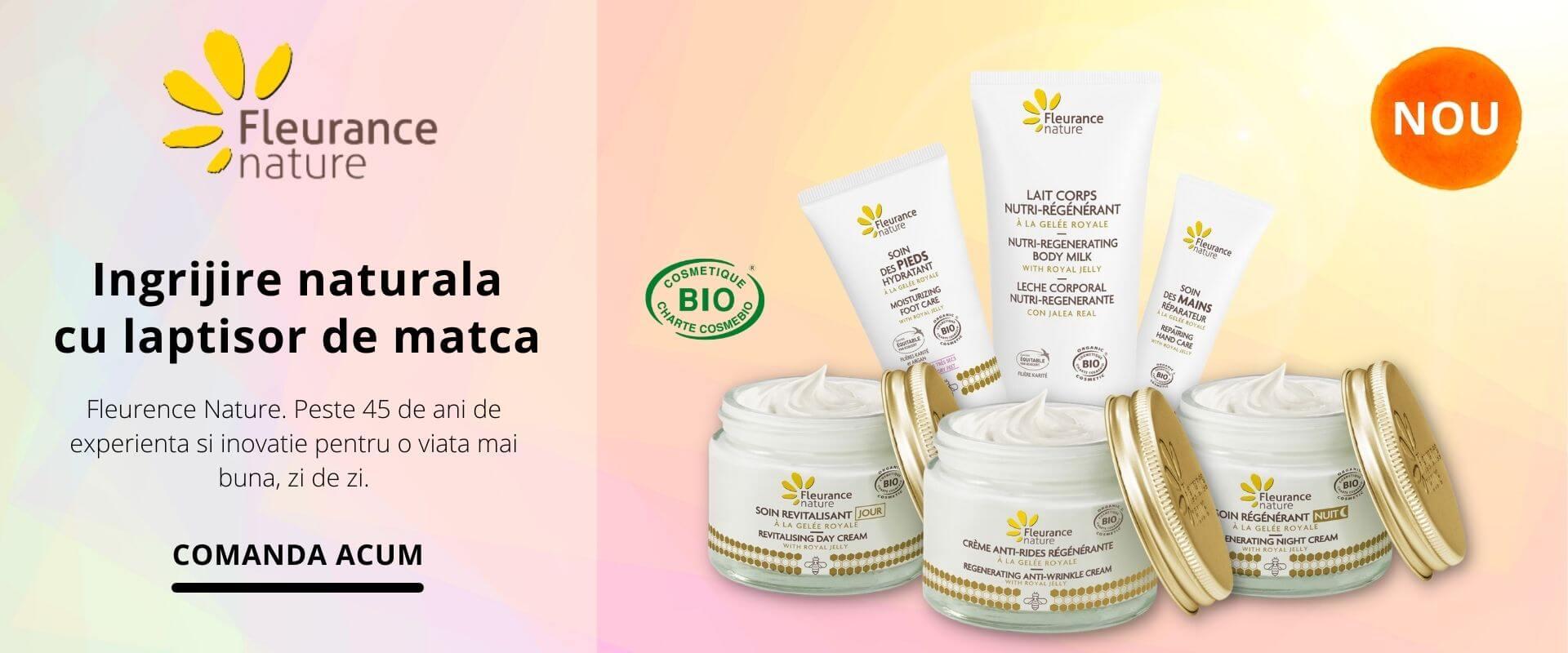 Cosmetice bio Fleurance Nature