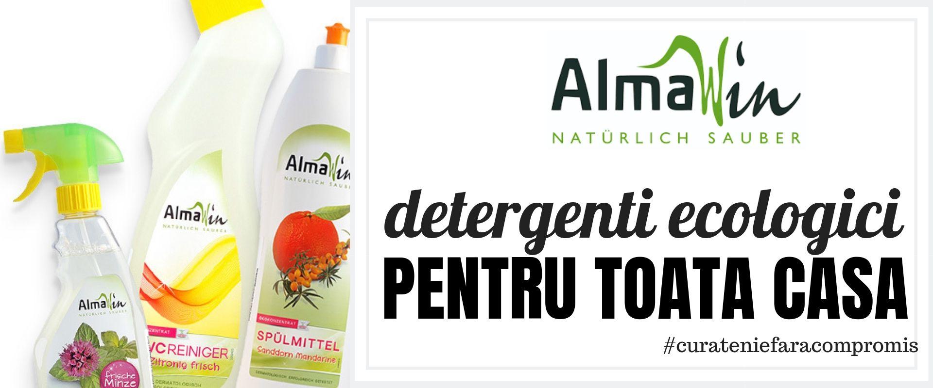 Detergenti ecologici AlmaWin