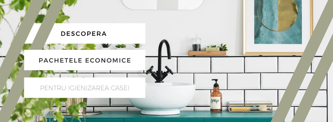 Pachete economice detergenti ecologici