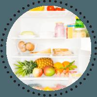Bicarbonat de sodiu - dezodorizeaza frigiderul