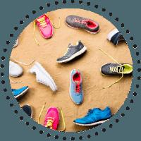 Bicarbonatul de sodiu dezodorizeaza incaltamintea sport