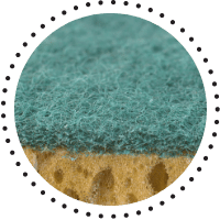 Bicarbonat de sodiu pentru improspatarea buretilor de vase