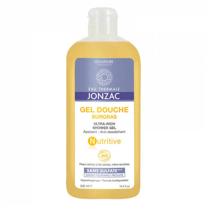 Nutritive - Gel de dus emolient, Jonzac, 500ml 0