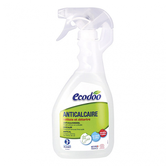 Anticalcar spray, certificat bio | Ecodoo, 500ml 0