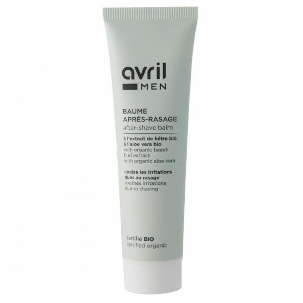 After-shave balsam, certificat bio, cu aloe vera, Avril, 100ml