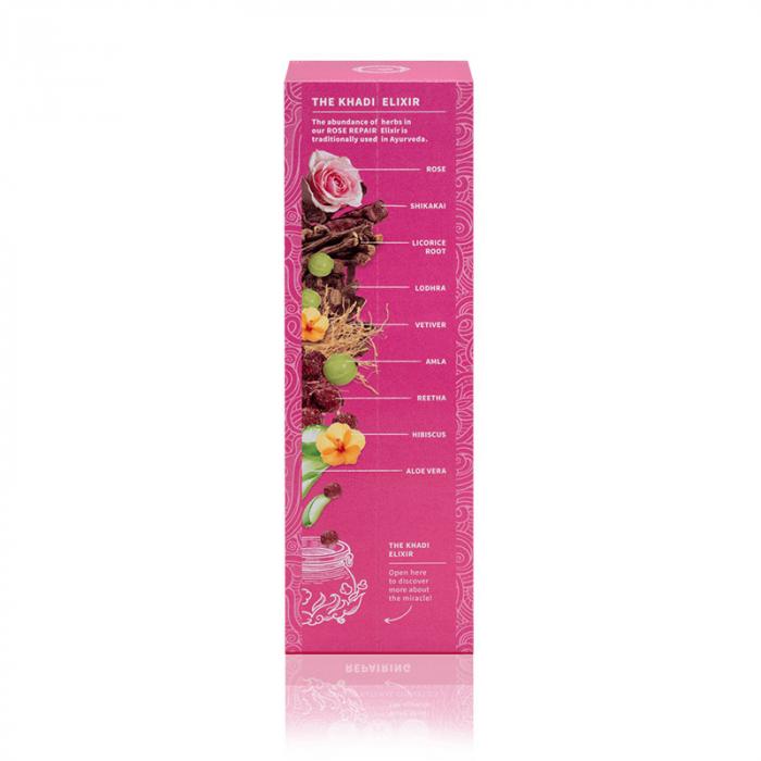 Sampon elixir par uscat si deteriorat, Rose Repair, Khadi 3