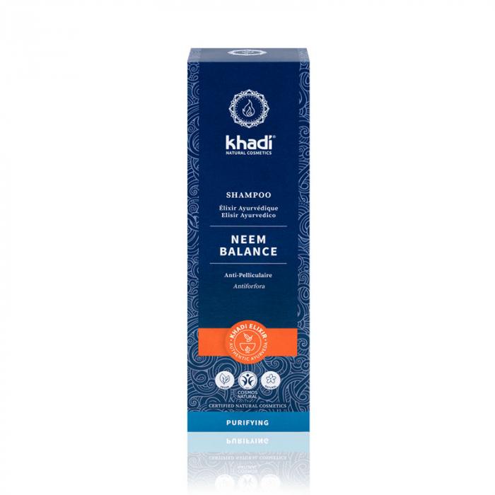Sampon elixir antimatreata Neem Balance Khadi 2