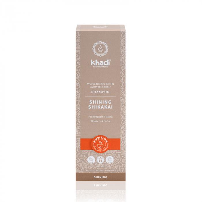 Șampon elixir hidratare și strălucire, Shining Shikakai | Khadi, 200 ml 1