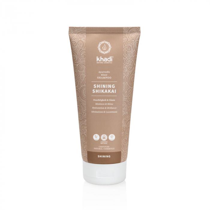 Șampon elixir hidratare și strălucire, Shining Shikakai | Khadi, 200 ml 0