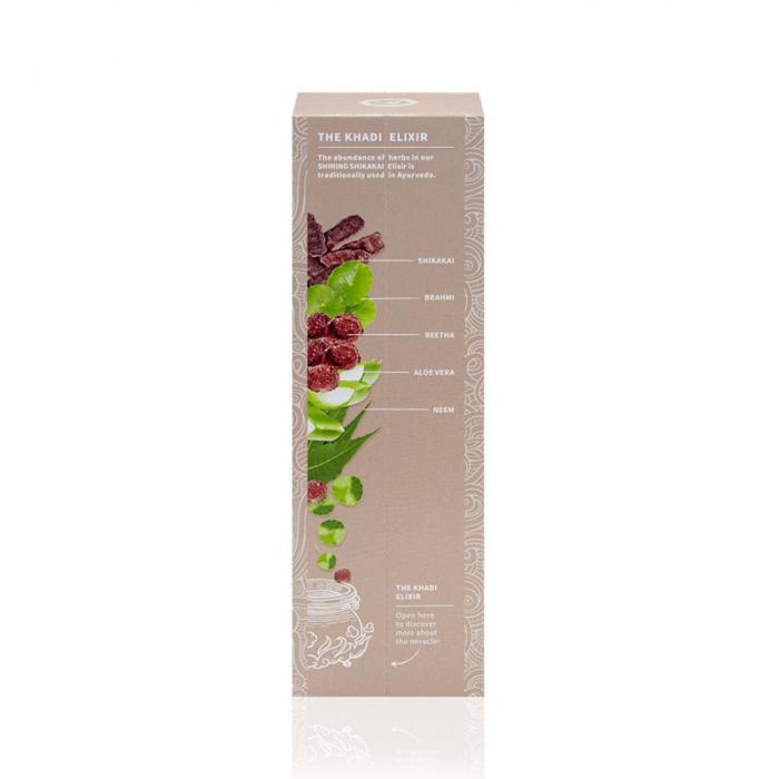 Șampon elixir hidratare și strălucire, Shining Shikakai | Khadi, 200 ml 2