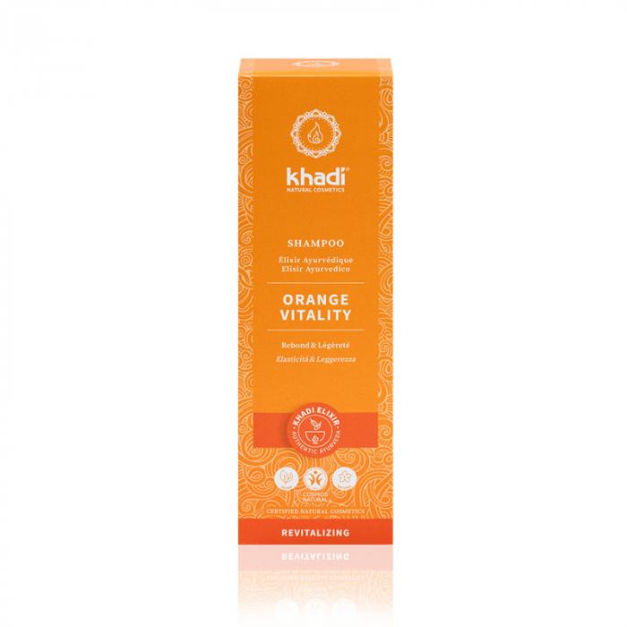 Șampon elixir pentru păr normal și gras, Orange Vitality [1]