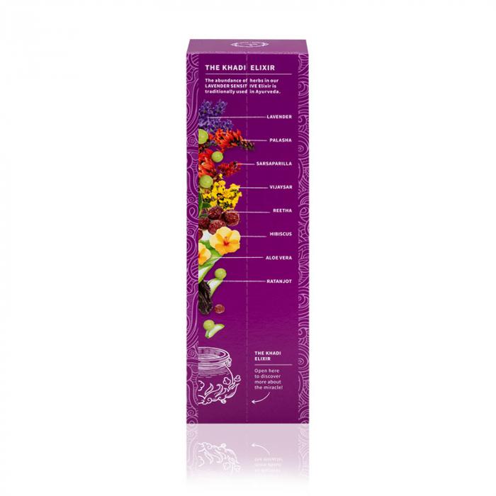 Sampon elixir echilibrant Lavender Sensitive Khadi 2