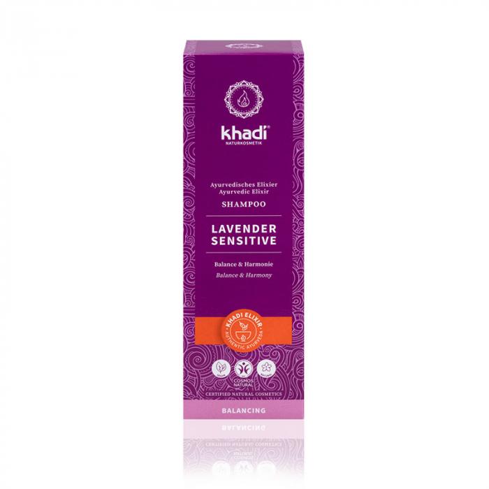 Sampon elixir echilibrant Lavender Sensitive Khadi 1