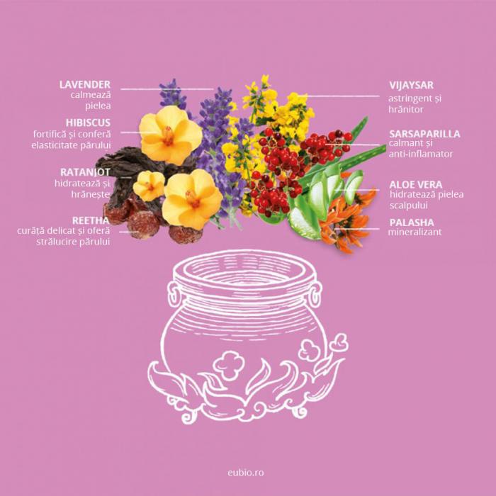 Sampon elixir echilibrant Lavender Sensitive Khadi 3