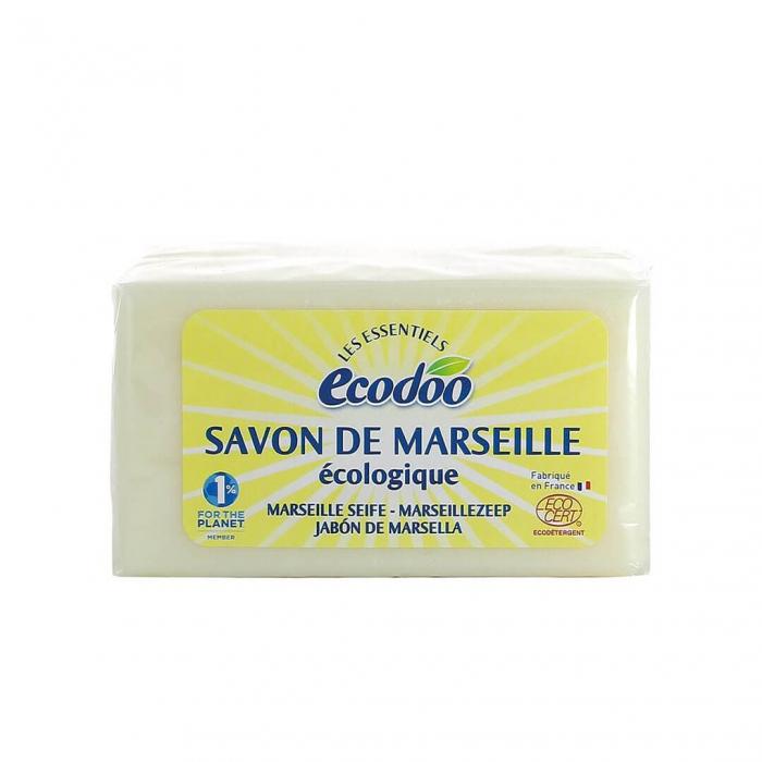 Săpun de Marsilia antipete | Ecodoo, 400g 0