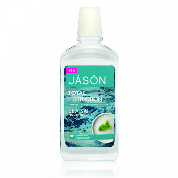 Apa de gura cu sare de mare Total Protection, Jason, 473ml 0