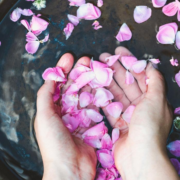 Apa florala de trandafir bio, Trio Verde, 100ml 2