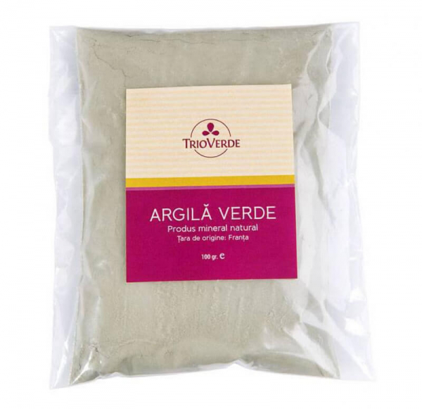 Argila verde, Trio Verde, 100g 0