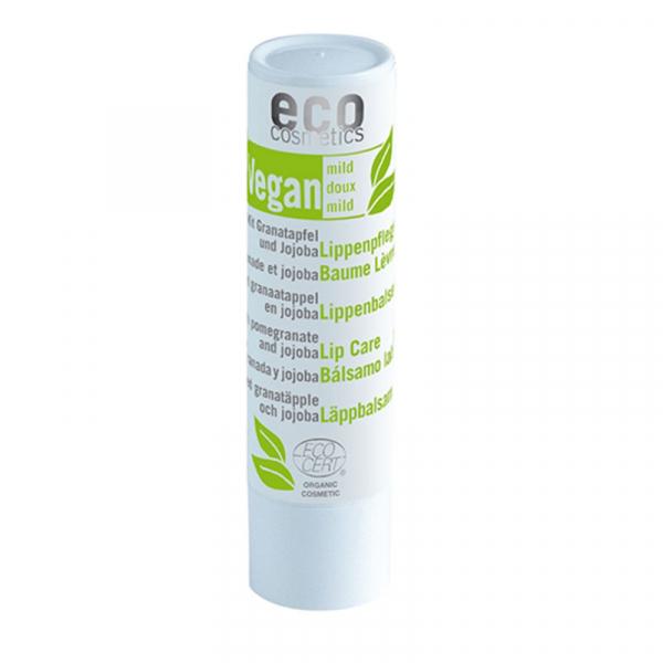 Balsam de buze bio VEGAN cu rodie si jojoba, Eco Cosmetics, 4g 0