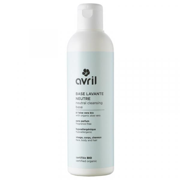 Baza neutra de curatare, fara parfum, certificata bio, Avril, 240ml 0