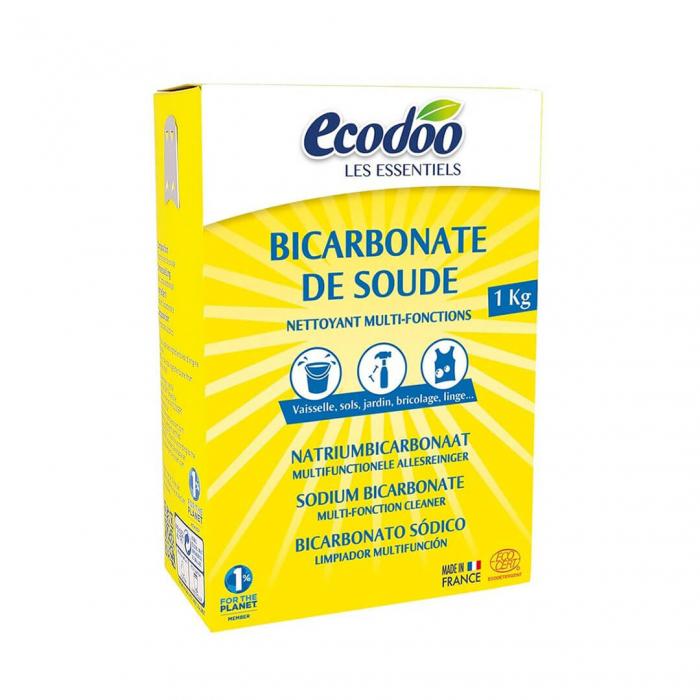 Bicarbonat de sodiu pentru menaj | Ecodoo, 1kg 0