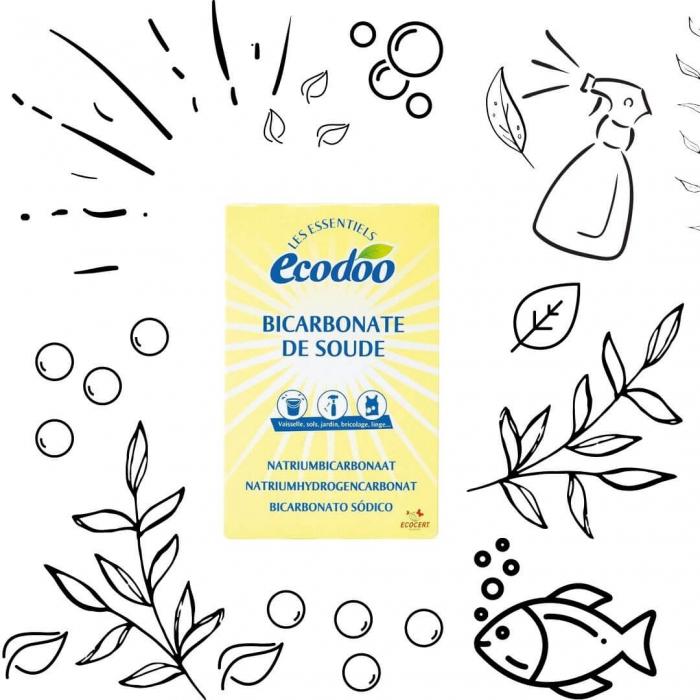 Bicarbonat de sodiu pentru menaj | Ecodoo, 500g 1
