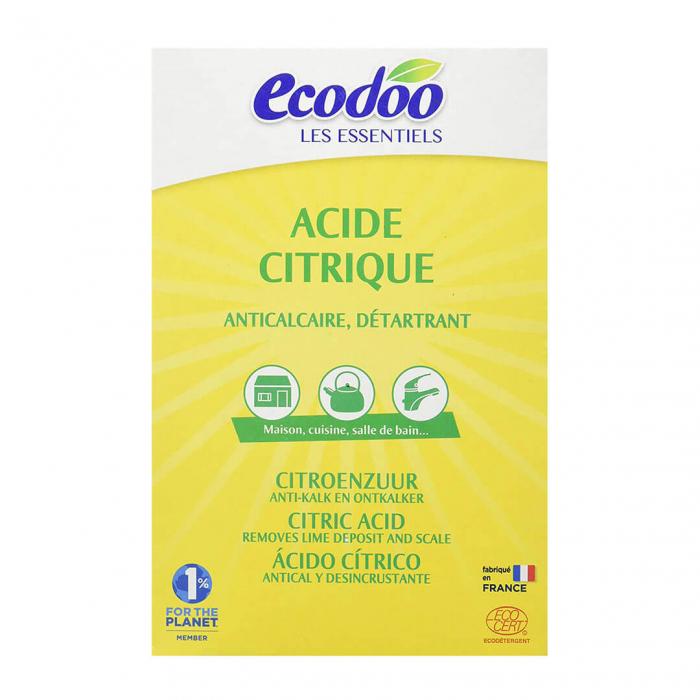 Acid citric monohidrat, detartrant & anticalcar | Ecodoo, 350g 0