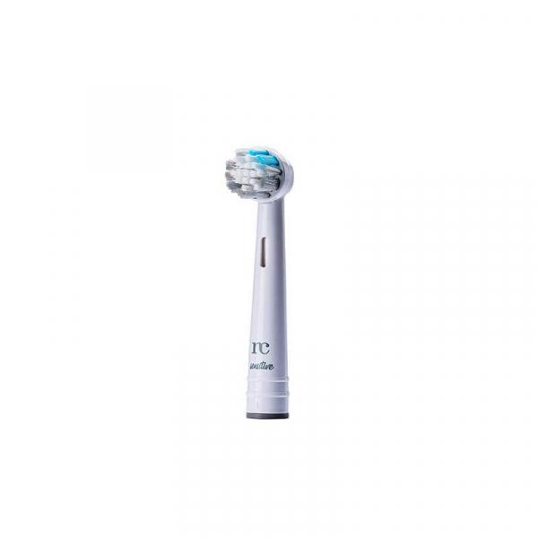 Capat / Rezerva universala periuta de dinti electrica rotativa, peri cu argint, Sensitive, NovaCare, bleu-turcoaz 3