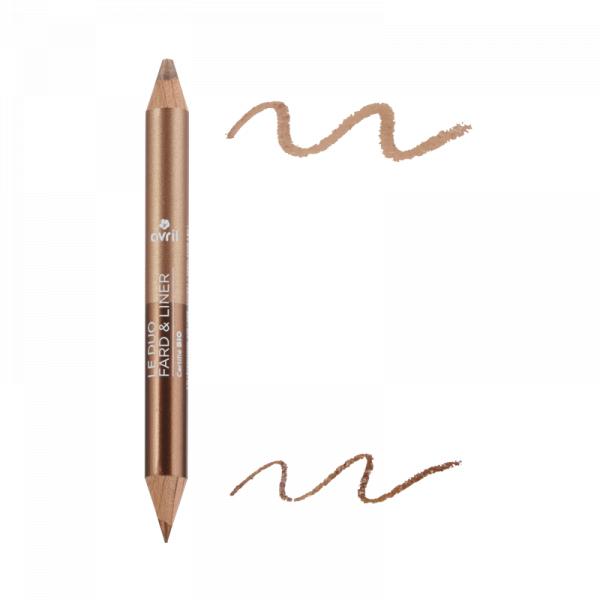 2 in 1 creion de ochi si fard de pleoape Bronze Cuivre/Beige Doré, Avril 0
