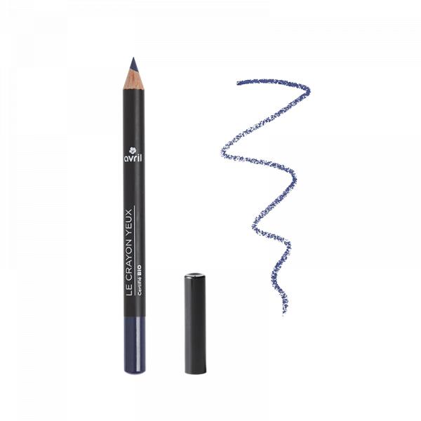 Creion de ochi certificat bio, Bleu Minuit, Avril 0