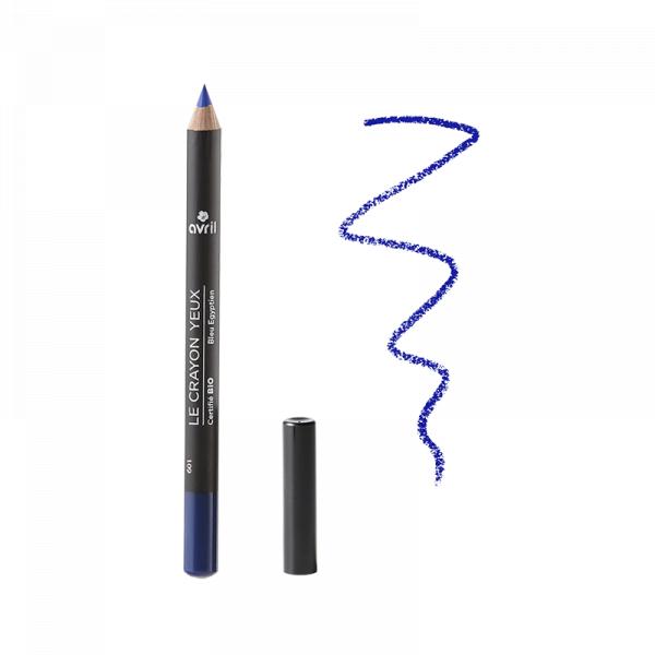 Creion de ochi certificat bio, Bleu Egyptien, Avril 0