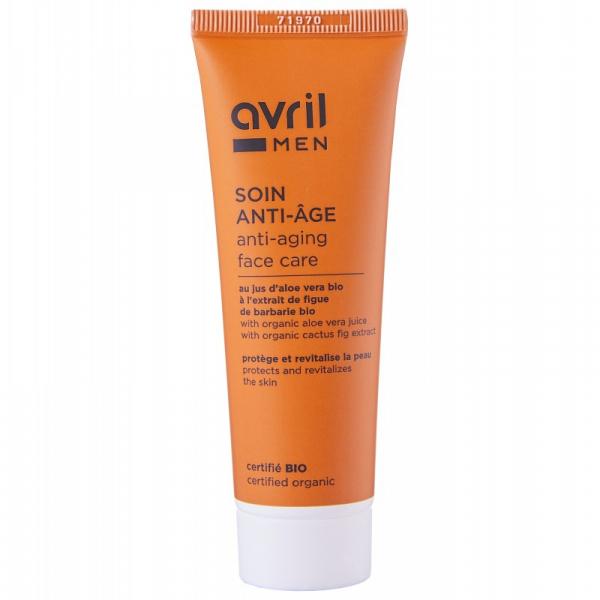 Crema anti-aging pentru barbati, certificata bio, Avril, 50ml 0