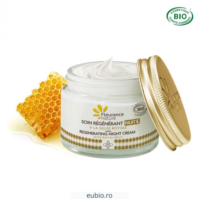 Crema de noapte bio regeneranta laptisor de matca | Fleurance Nature [1]