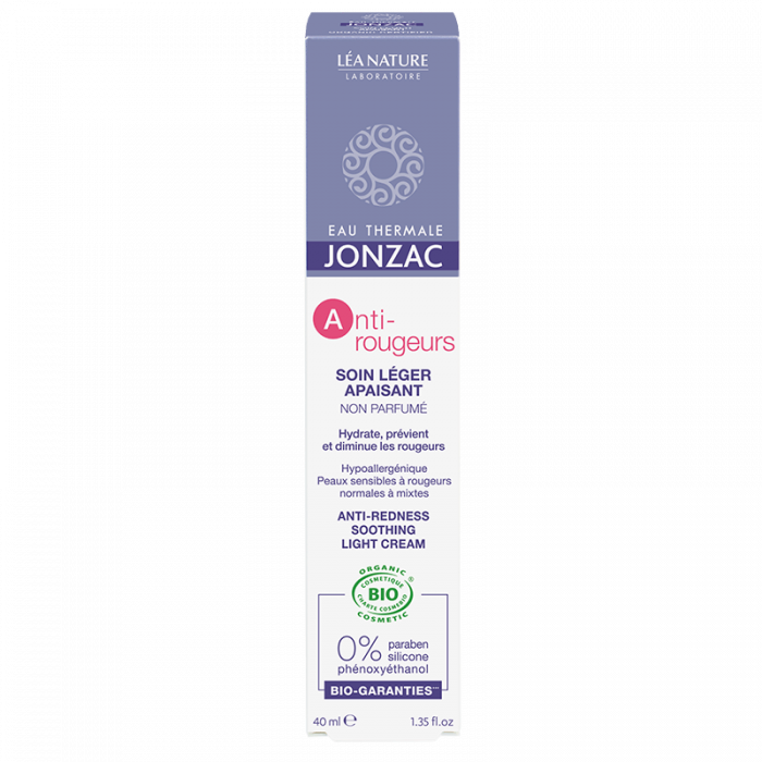 Anti-Rougeurs - Crema calmanta anti-roseata ten normal-mixt, Jonzac, 40ml 0