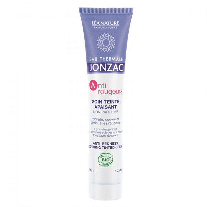 Anti-Rougeurs - Crema calmanta colorata anti-roseata, Jonzac, 40ml 1