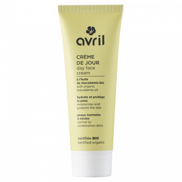 Crema de zi, ten normal si mixt, certificata bio, Avril, 50ml