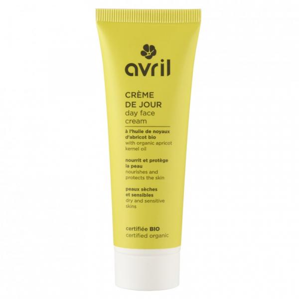 Crema de zi, ten sensibil si uscat, certificata bio, Avril, 50ml 0