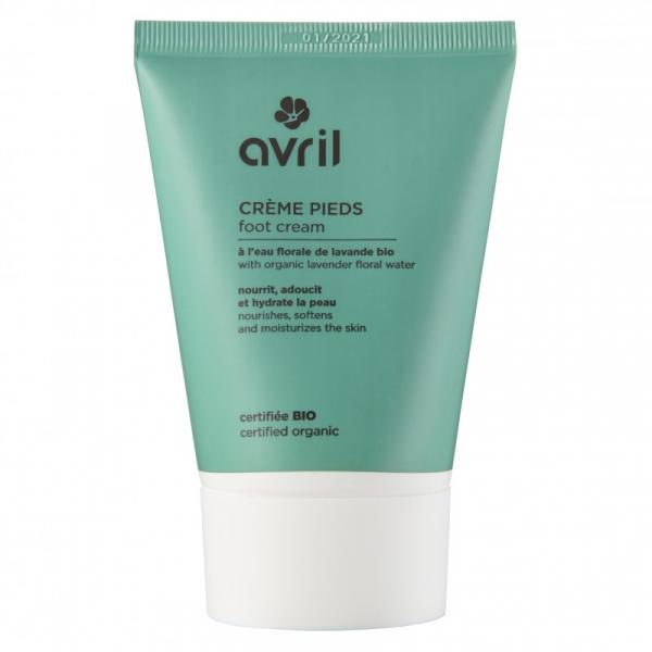 Crema pentru picioare, certificata bio, Avril, 100ml 0