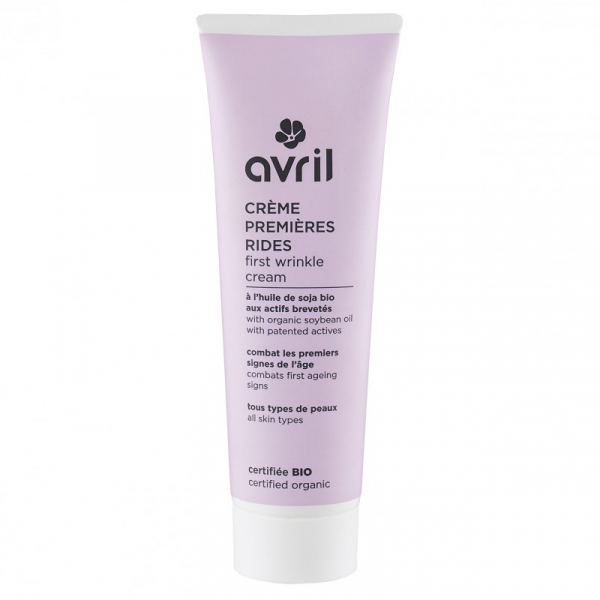 Crema pentru primele riduri, certificata bio, cu ulei de soia organic, Avril, 50ml 0