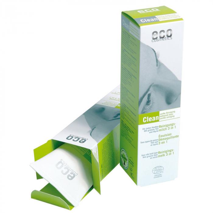 Demachiant bio 3 in 1 cu ceai verde si mirt pentru toate tipurile de ten [0]