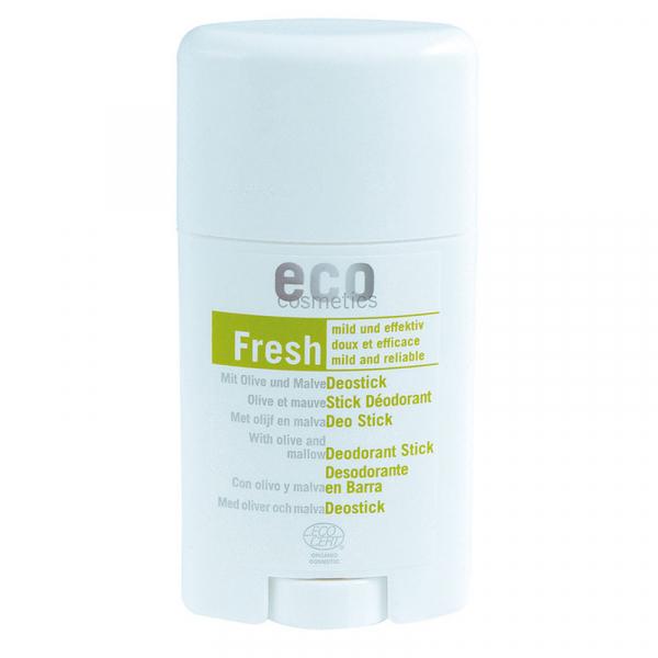 Deodorant bio cu nalba si frunze de maslin, Eco Cosmetics, 85g 0