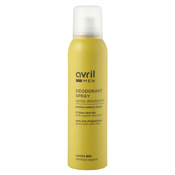 Deodorant bio spray pentru bărbați | Avril, 150ml [0]