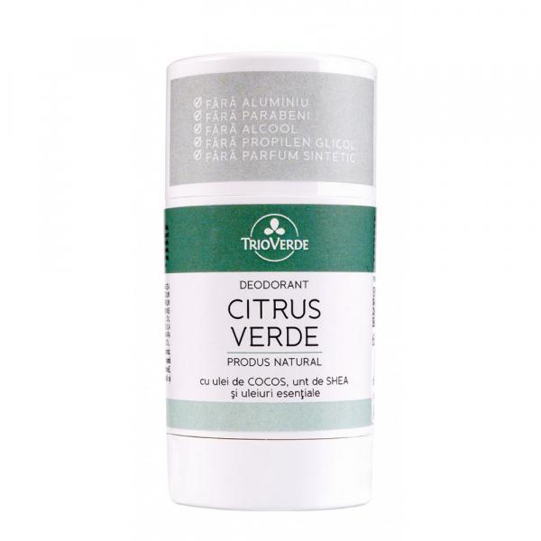 Deodorant natural cu Citrus Verde, Trio Verde, 70g 0